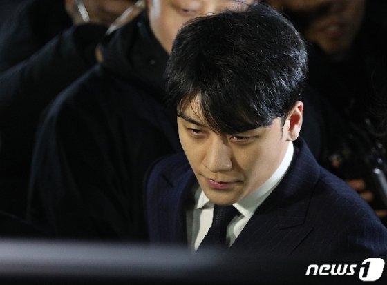 가수 승리(본명 이승현·29) © News1 신웅수 기자