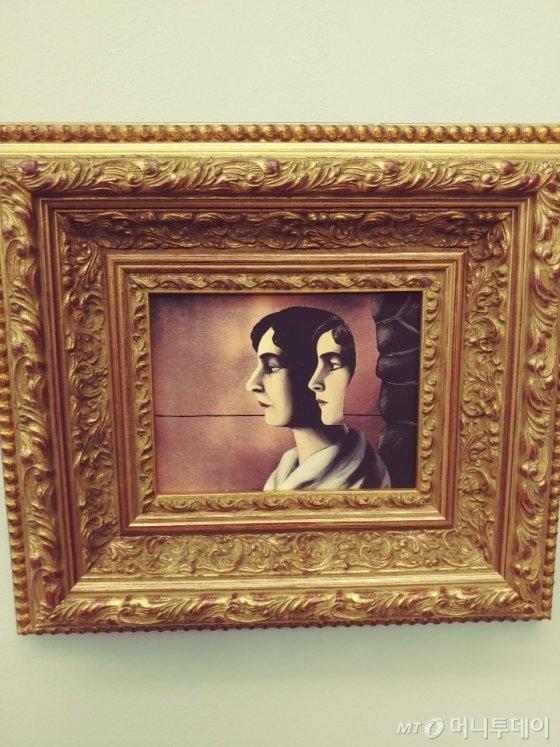 조제트 마그리트, 1930년경. 개인소장. /사진제공=브뤼셀 브라쇼 갤러리.