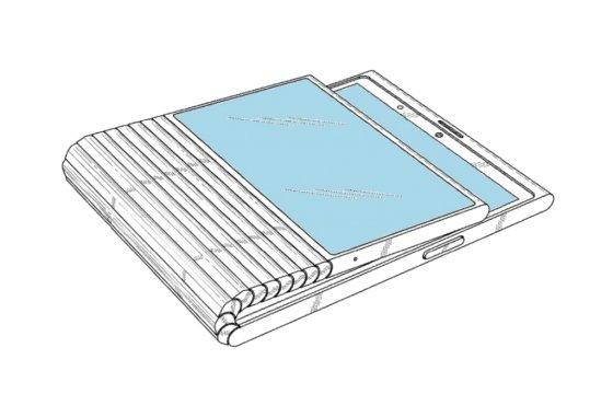 레노버 폴더블폰 특허 이미지 /사진=레츠고디지털