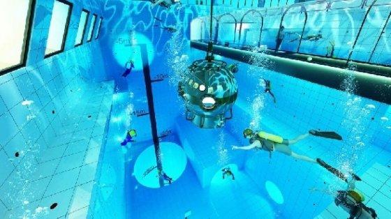 올해 가을 폴란드에서 개장되는 세계 최대 수심 수영장 딥스폿 © 딥스폿 페이스북 캡처