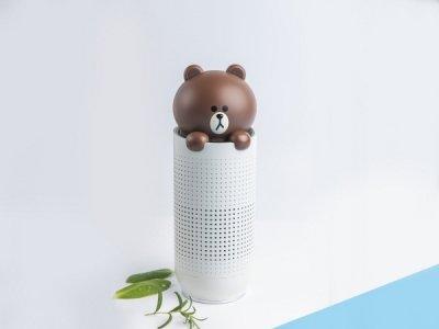 클레어 브라운 휴대용 공기청정기/사진제공=클레어