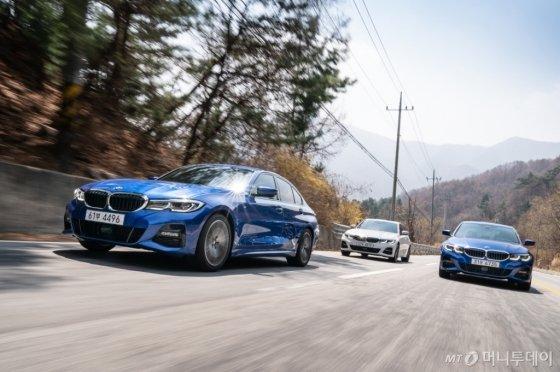 BMW 7세대 3시리즈 주행 모습. /사진제공=BMW그룹코리아