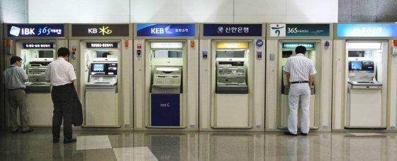 현금인출기 ATM / 사진=머니위크
