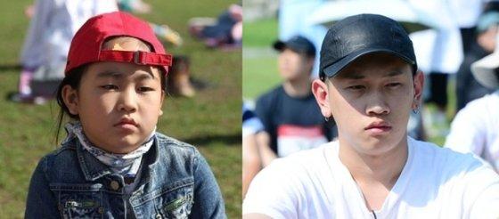 2014년 우승자 김지명양(왼쪽)과 2016년 우승자 가수 크러쉬. 멍 때리는 표정이 닮았다. /사진=서울시 공식 트위터, 뉴스1
