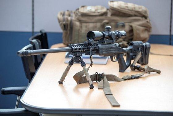 저격용 소총인 K14를 거치한 모습 / 사진제공 = 육군