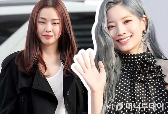 배우 이하늬, 그룹 트와이스 다현/사진=머니투데이 DB