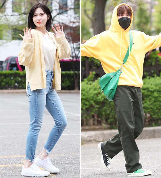 그룹 다이아 예빈, 방탄소년단 제이홉/사진=뉴스1