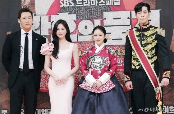 배우 최진혁, 이엘리야, 장나라, 신성록 등 드라마 '황후의 품격' 출연배우들.