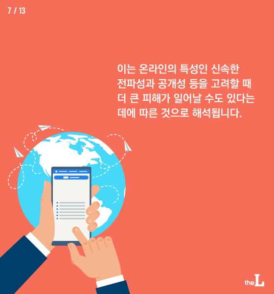 [카드뉴스] '악플러' 처벌 강화 법 추진