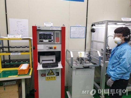 뉴로스의 공기압축기 제작 설비 및 공정