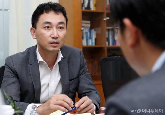 김명구 롯데백화점 디지털사업부문장 /사진=김휘선 기자