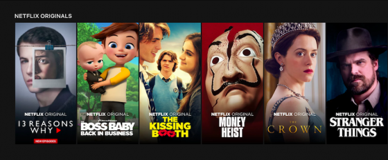 넷플릭스 오리지널 시리즈 /사진=Netflix