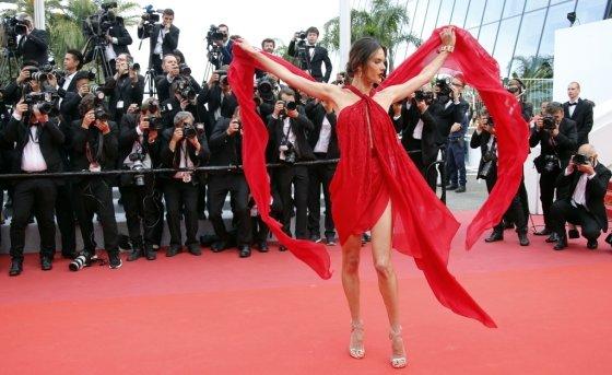 모델 알레산드라 앰브로시오/사진=Reuters