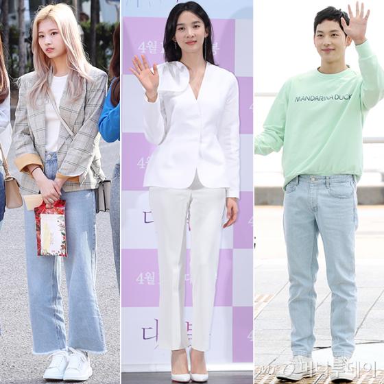 그룹 트와이스 사나, 배우 이청아, 임시완 /사진=머니투데이 DB