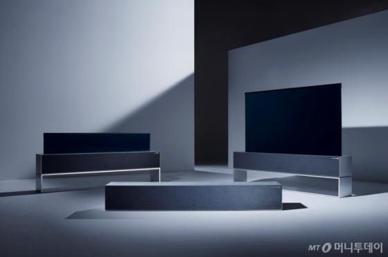 LG전자 롤러블 TV(LG 시그니처 올레드 TV R) /사진=LG전자 공식블로그