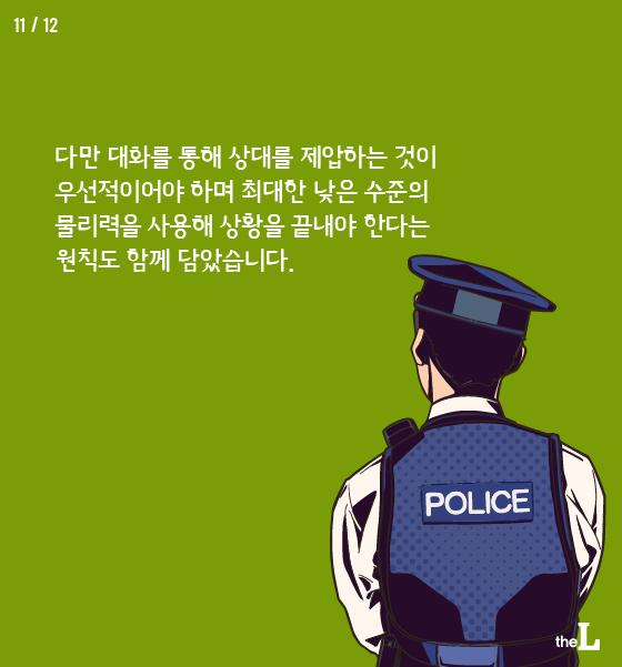 [카드뉴스] 경찰 폭행, 테이저건 쏜다