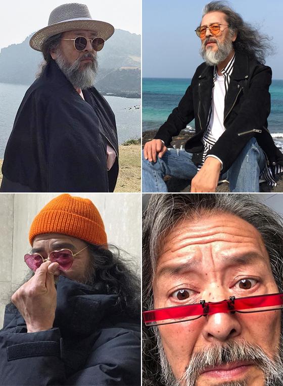 시니어 모델 김칠두/사진=김칠두 인스타그램
