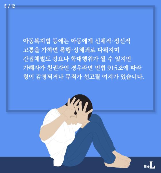 [카드뉴스] 사랑의 매, 안돼