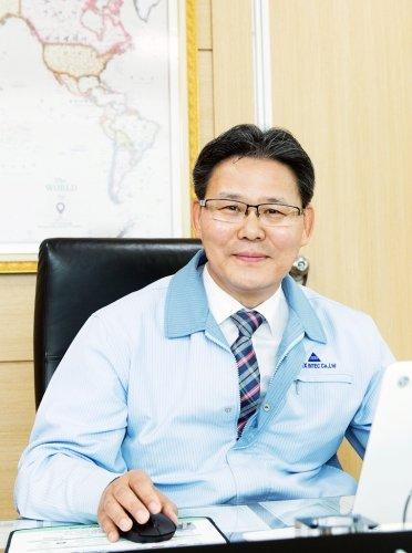 김권진 에이펙스인텍 대표이사/사진제공=에이펙스인텍