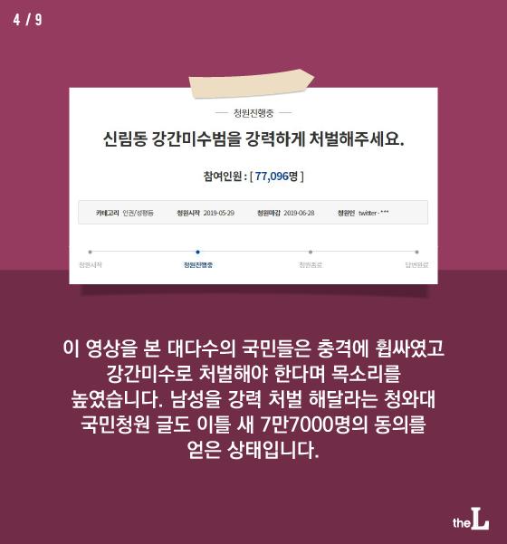 [카드뉴스] '신림동 남성', 강간미수 처벌될까