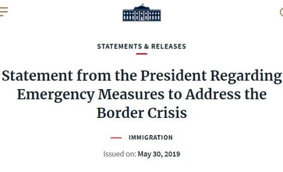 /사진=미국 백악관 홈페이지