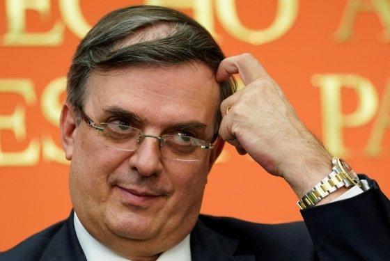 마르셀로 에브라르드 멕시코 외교부 장관. /사진=로이터