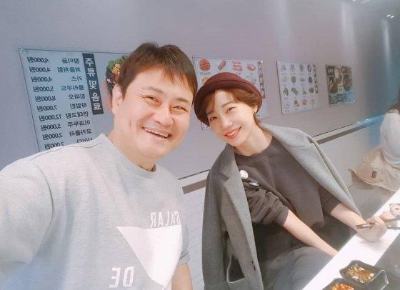 김진수-양재선 부부/사진=김진수 인스타그램