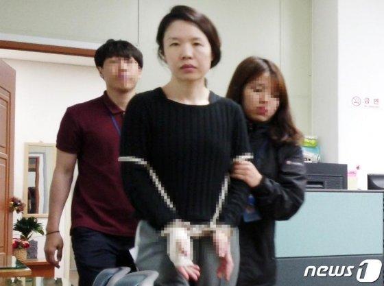 '제주 전 남편 살해사건' 피의자 고유정/사진=뉴스1