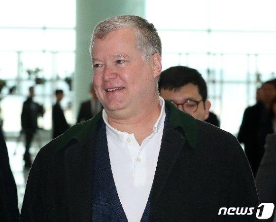 스티븐 비건 미국 국무부 대북정책특별대표. 2019.2.10/뉴스1 © News1 박세연 기자