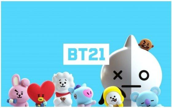 라인프렌즈와 BTS가 함께 만든 'BT21' 캐릭터. /사진제공=라인프렌즈.
