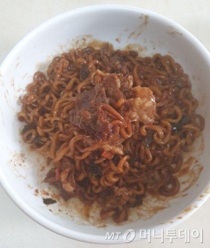 '기생충' 속 짜파구리, 농심이 알려준 비법