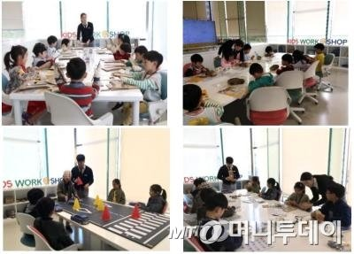 현대모터스튜디오 고양에서 운영해 온 어린이 수소 체험 학습 프로그램 '키즈워크숍' 모습. 이번 수소엑스포에서도 사전 신청하면 참여할 수 있다./사진=현대차