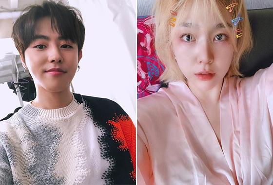그룹 블락비 유권, 방송인 겸 모델 전선혜/사진=각 인스타그램