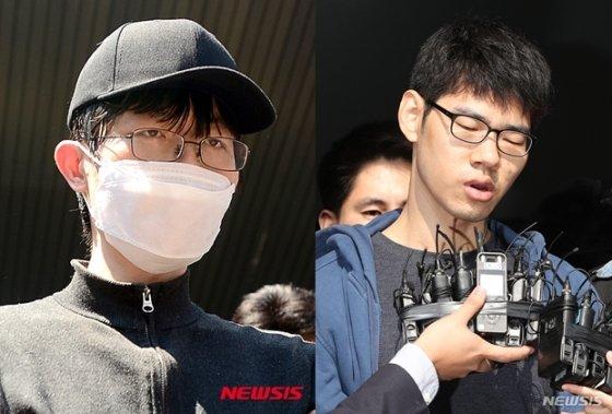 강남역 살인사건 피의자(왼쪽), 강서구 PC방 살인사건 피의자 김성수/사진=뉴시스
