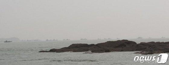 연평도 인근 북방한계선(NLL)/사진=뉴스1  <저작권자 © 뉴스1코리아, 무단전재 및 재배포 금지>