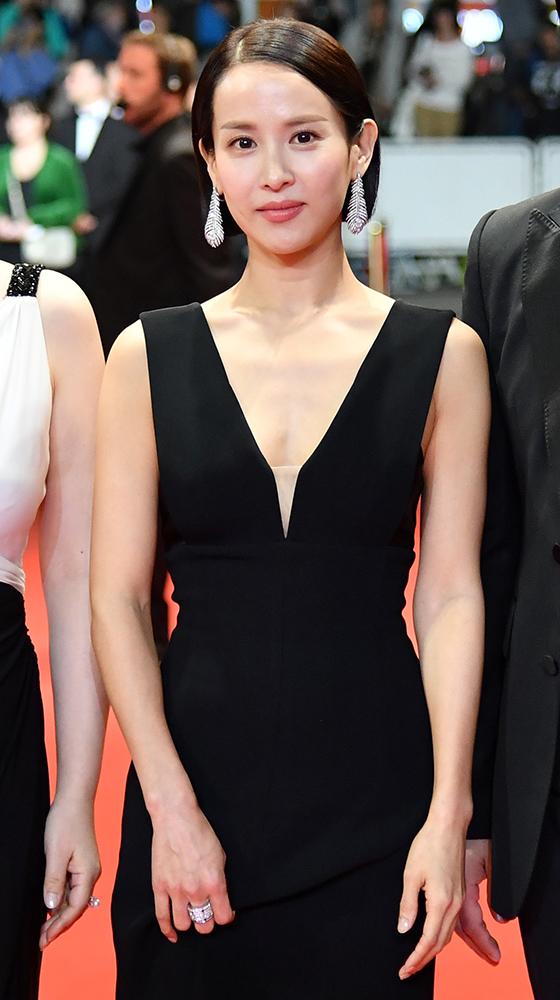 제72회 칸 국제영화제에 참석한 배우 조여정./사진=AFP
