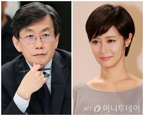 왼쪽부터 손석희 JTBC 앵커,김주하 MBN 앵커./사진=머니투데이 DB