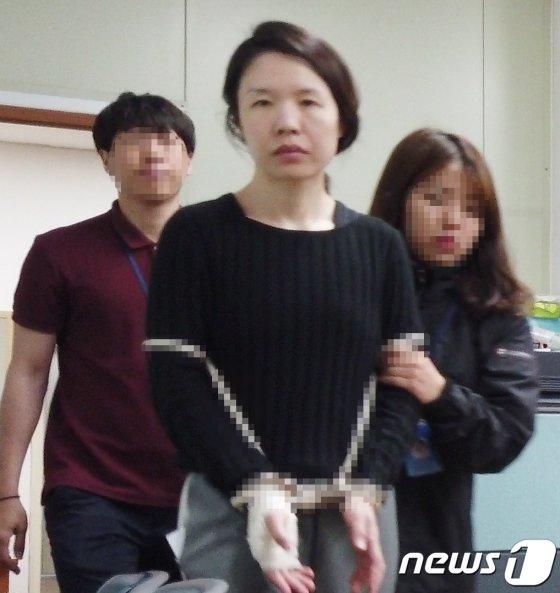 '제주 전남편 살해사건' 피의자 고유정./사진=뉴스1