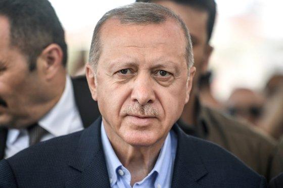 레제프 타이이프 에르도안 터키 대통령. /AFPBBNews=뉴스1