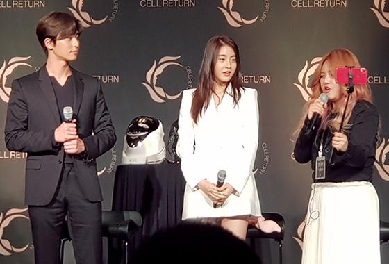 배우 박서준, 강소라, 유튜버 다또아/사진=이은 기자