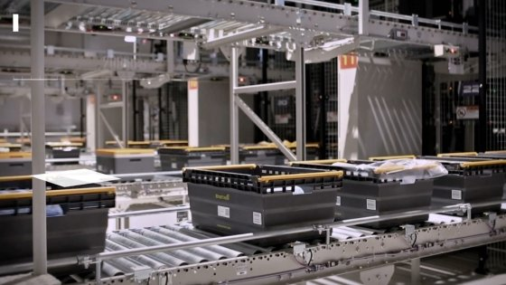 김포 이마트 'NE.0 002 김포 센터'(이하 김포 네오센터) 내부 모습. /사진=SSG 제공영상 캡처