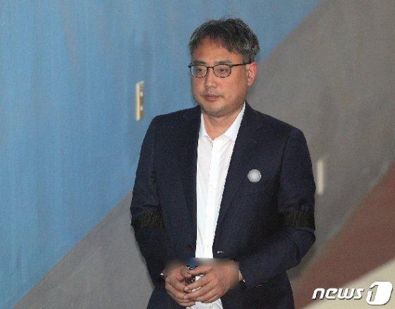 변희재 미디어워치 대표고문 /뉴스1 © News1 신웅수 기자