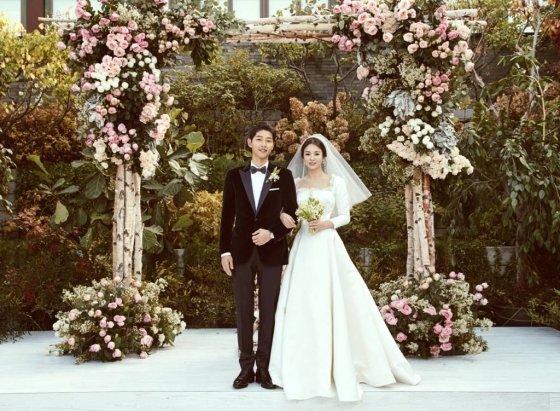 송중기 송혜교 결혼식 / 사진제공=블러썸엔터테인먼트 UAA엔터테인먼트