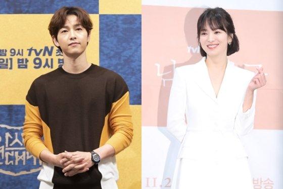 배우 송중기(왼쪽)·송혜교./사진=뉴시스