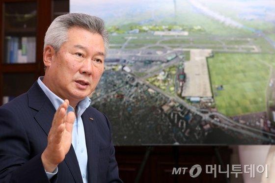 손창환 사장은 창립 40주년을 맞는 2020년에 본격적인 해외사업 진출과 함께 지방공항 활성화 방안을 추진하는 등 한국공항공사의 중대한 모멘텀의 해가 될 것이라고 강조했다. / 사진=이기범 기자