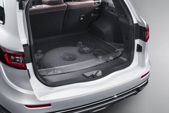 더 뉴 QM6 LPe 도넛 트렁크 모습./사진제공=르노삼성차