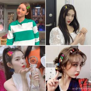 아이린·선미·수지…★가 사랑하는 헤어액세서리 '주목'