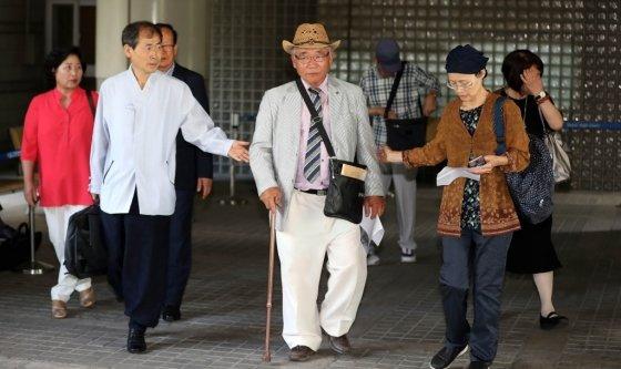 일제강점기에 강제 징용된 피해자들이 일본 미쓰비시중공업을 상대로 낸 소송에서 승소판결을 받았다./사진=뉴시스