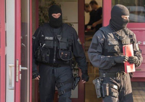 2018년 4월, 프랑크푸르트 근처 마인탈(Maintal)의 성매매 업소에 독일 경찰이 급습했다. 독일 경찰 당국은 태국 여성 200명을 인신매매 해 강제로 성매매를 시킨 혐의로 5명을 체포했다. /사진=AFP