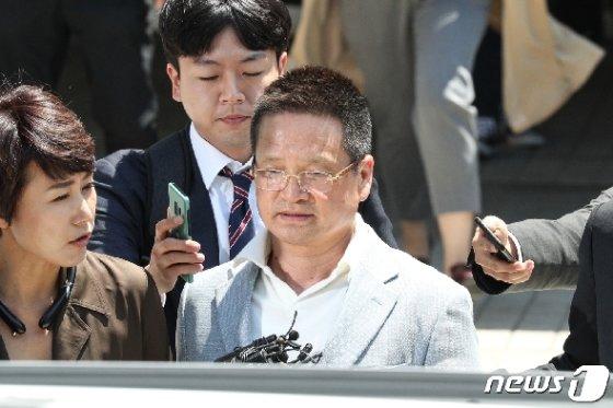 '김학의 사건'의 핵심 인물인 건설업자 윤중천씨(58). 2019.5.22/뉴스1 © News1 성동훈 기자